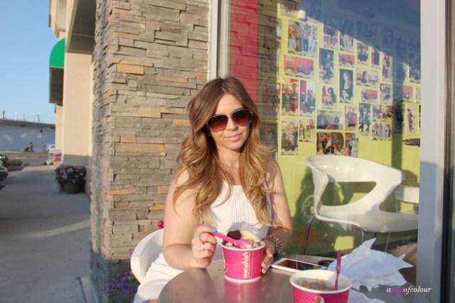 Shayna at Menchies
