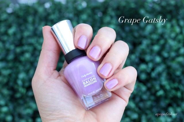 Sally Hansen Complete Salon Manicure in Grape Gatsby