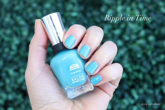 Sally Hansen Complete Salon Manicure in Ripple in Time