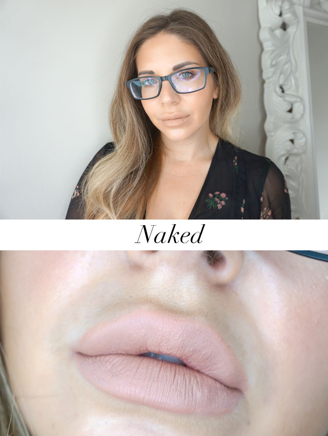 Kylie Cosmetics Vacation Collection, Naked Matte Liquid Lipstick
