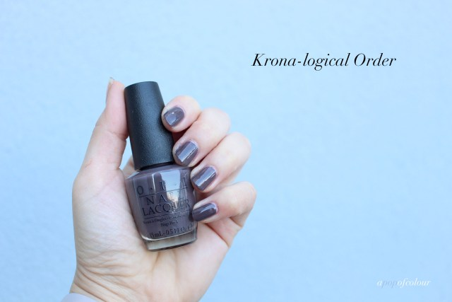 OPI Krona-logical Order swatch