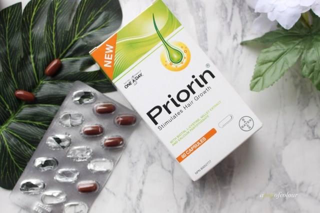 Priorin hair capsules