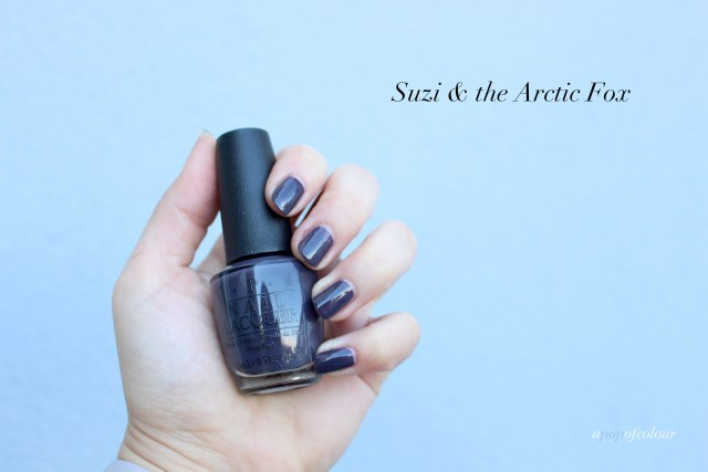 OPI Suzi and the Arctic Fox Swatch