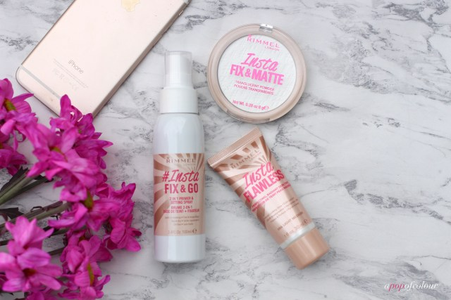 Rimmel London Insta face products