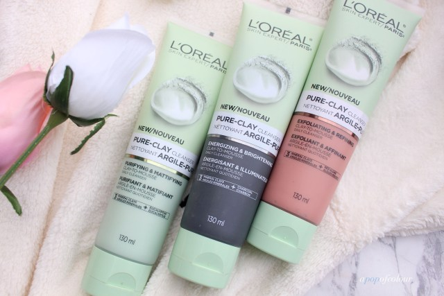 L'Oreal Paris L'Oreal Paris Pure-Clay Daily Cleansers