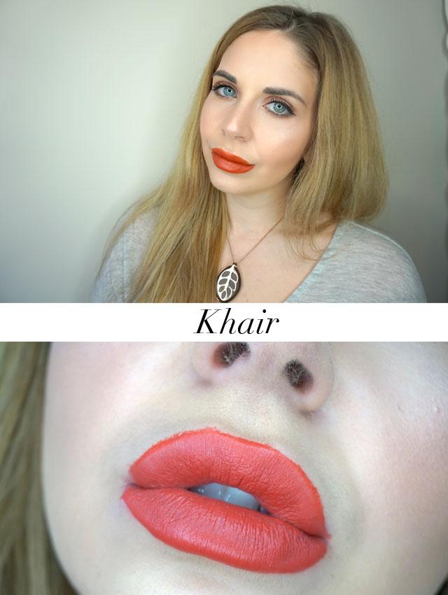 Maybelline x Gigi Hadid matte lipstick in Hair