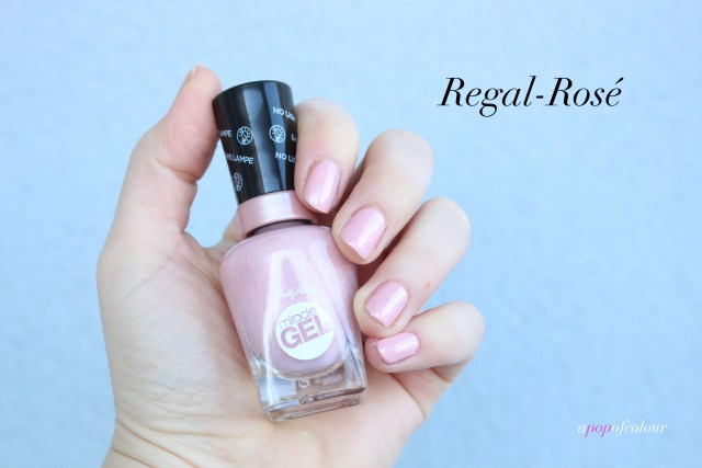 Sally Hansen Miracle Gel Regal-Rose
