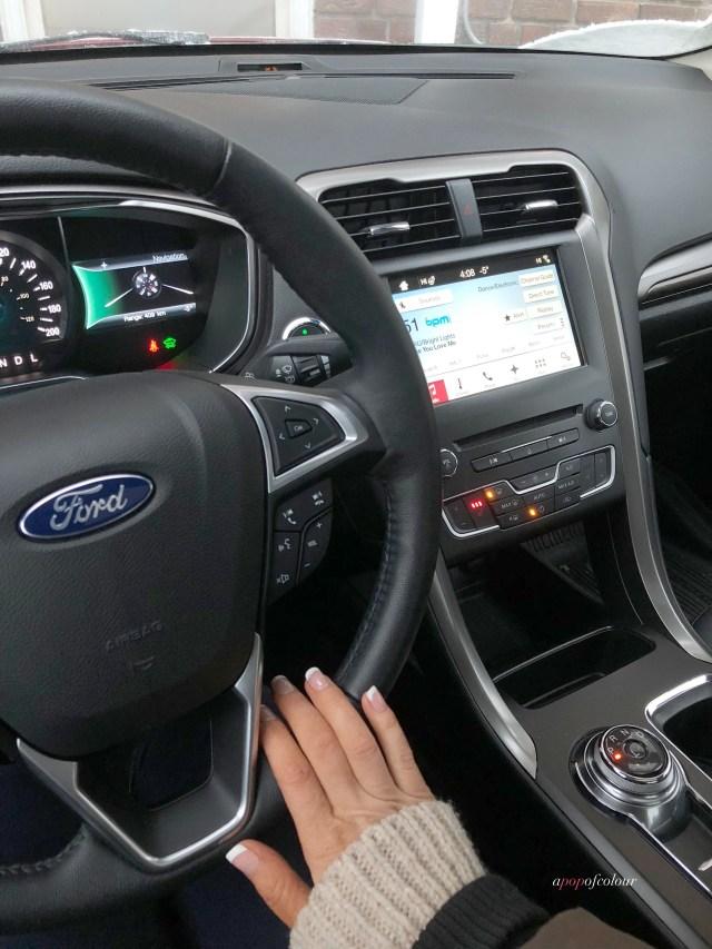 2017 Ford Fusion Energi interior