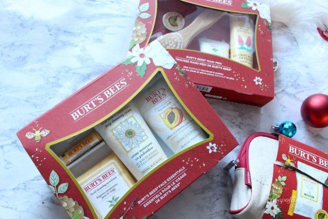Burt's Bees Face Essentials kit