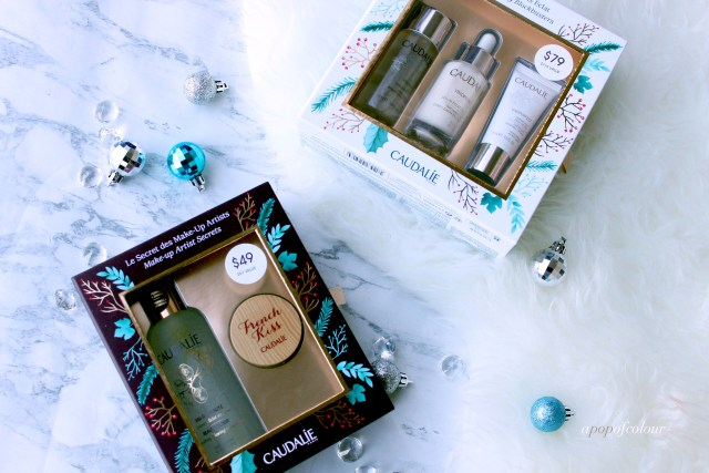 Holiday gift sets from Caudalie