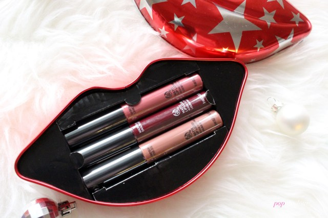the Body Shop x House of Holland Limited Edition Matte Liquid Lips Collection