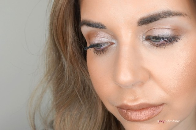 Makeup look using the Too Faced White Chocolate Bar palette