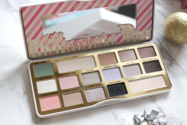 Too Faced Cosmetics White Chocolate Bar palette