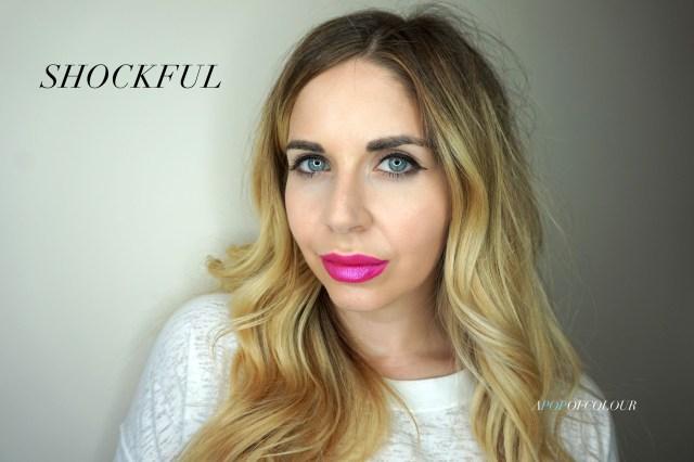 Kat Von D Glimmer Veil lipstick in Shockful