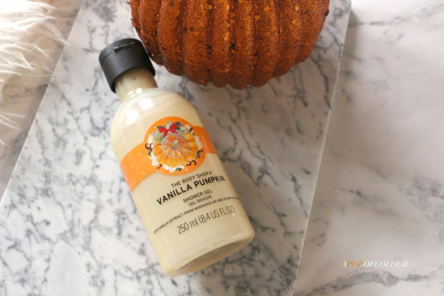 The Body Shop Vanilla Pumpkin body wash