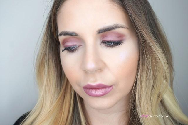 Lolita Eyeshadow Palette swatched