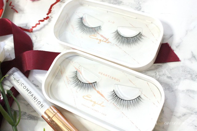 Esqido Unisyn lashes in X &O and Heart & Soul styles