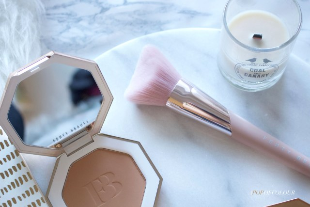 Fenty Beauty Sun Stalk'r Bronzer and Cheek Hugging Brush