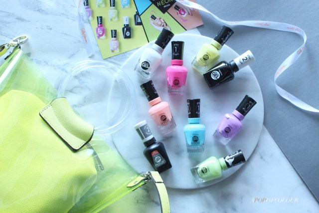 Sally Hansen Miracle Gel Summer 2019 Neon collection