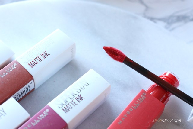 Maybelline SuperStay Matte Ink City Edition applicator wand