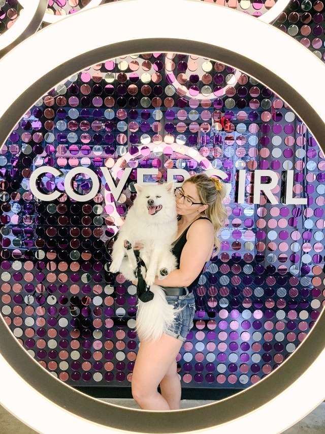 CoverGirl store in Time's Square NYC