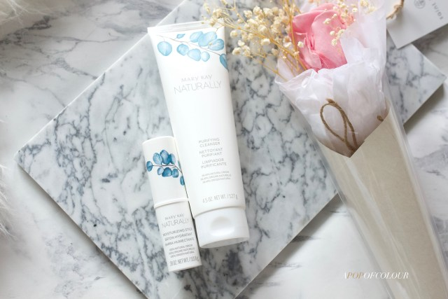 Mary Kay Naturally Purifying Cleanser and Moisturizing Stick