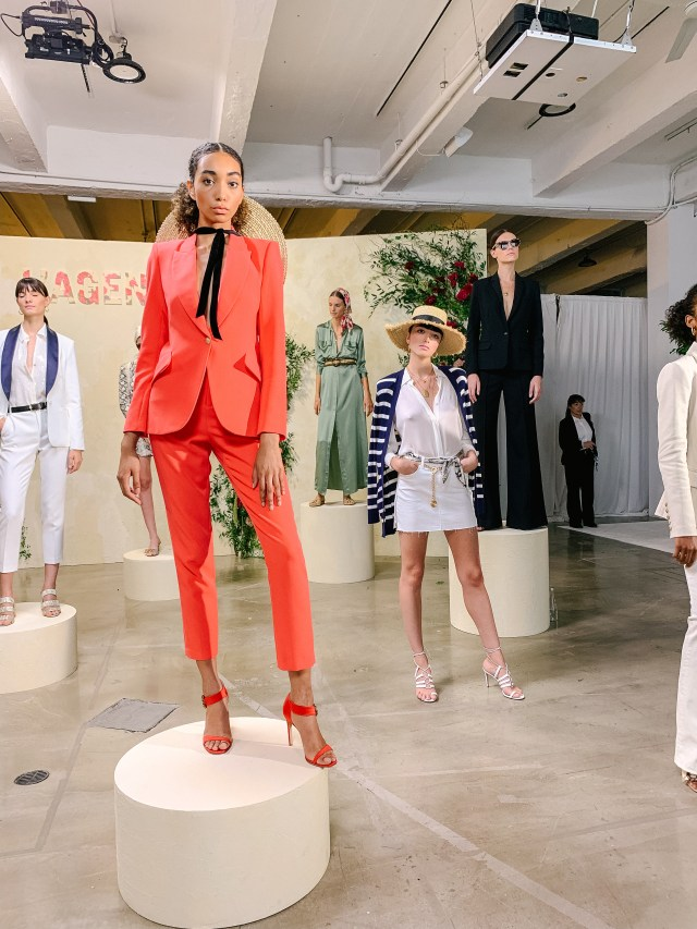 L'AGENCE Presentation during NYFW September 2019