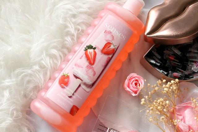 Avon Strawberry Bubble Bath