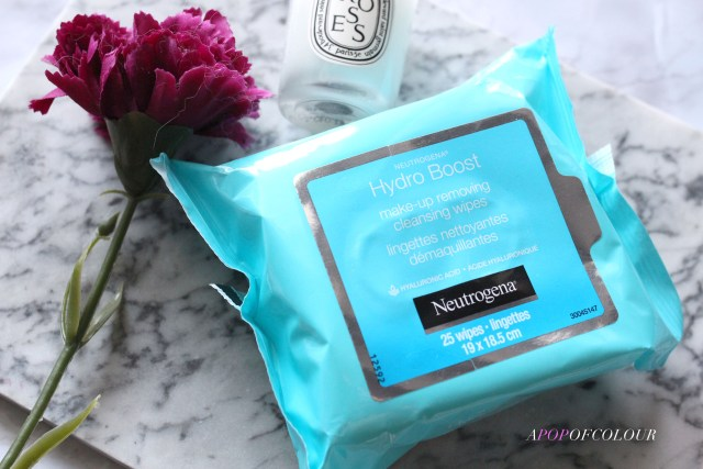 Neutrogena Hydro Boost makeup Removing Wipes