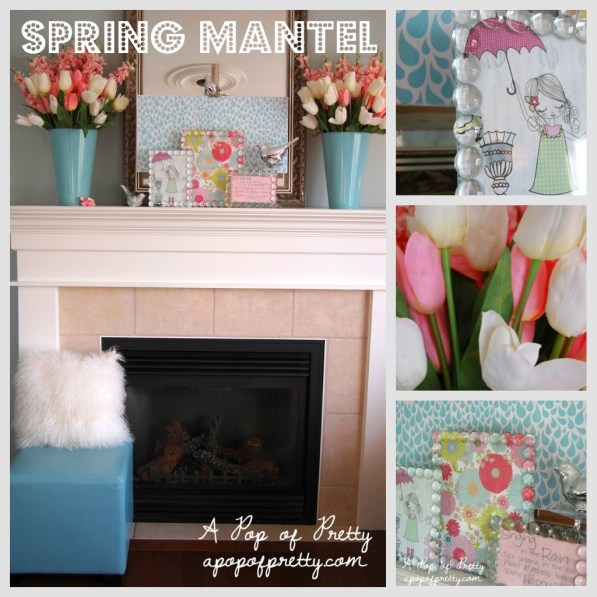 Easy Spring Decorating Ideas: A Pop Of Pretty Blog (Canadian Home Decorating Blog - St. John's