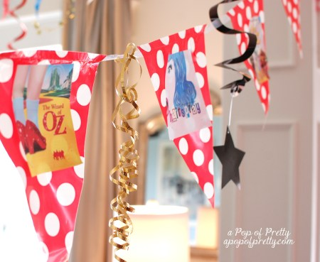 diy Broadway party decor