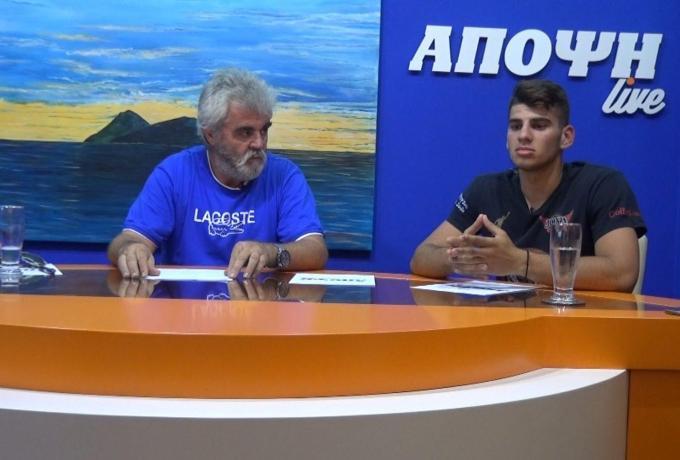 Συνέντευξη του Κώστα Φασομυτάκη Αθλητή Kick Boxing