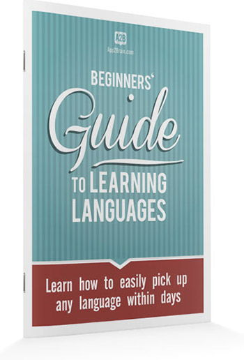 Beginners' guide to learning languages