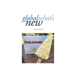 Small Crop Of Toblerone Ice Cream