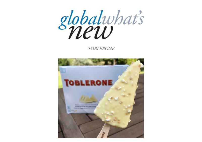 Large Of Toblerone Ice Cream