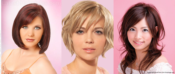 How To Style Your Hair To Suit Your Face Shape2