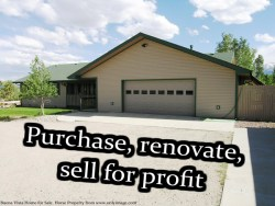 Property Flipping for Profit