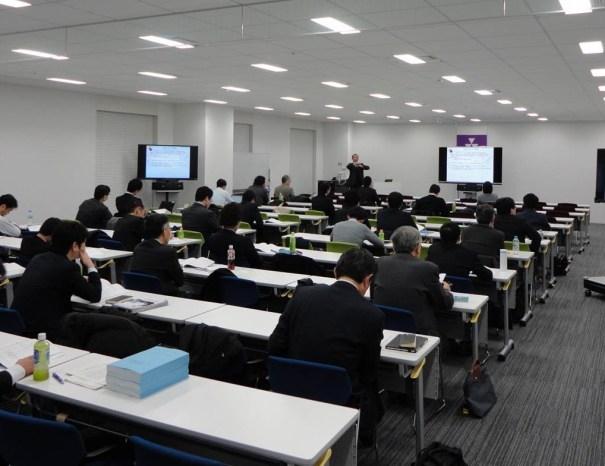 講演会の様子(同志社大学東京オフィス セミナールーム)