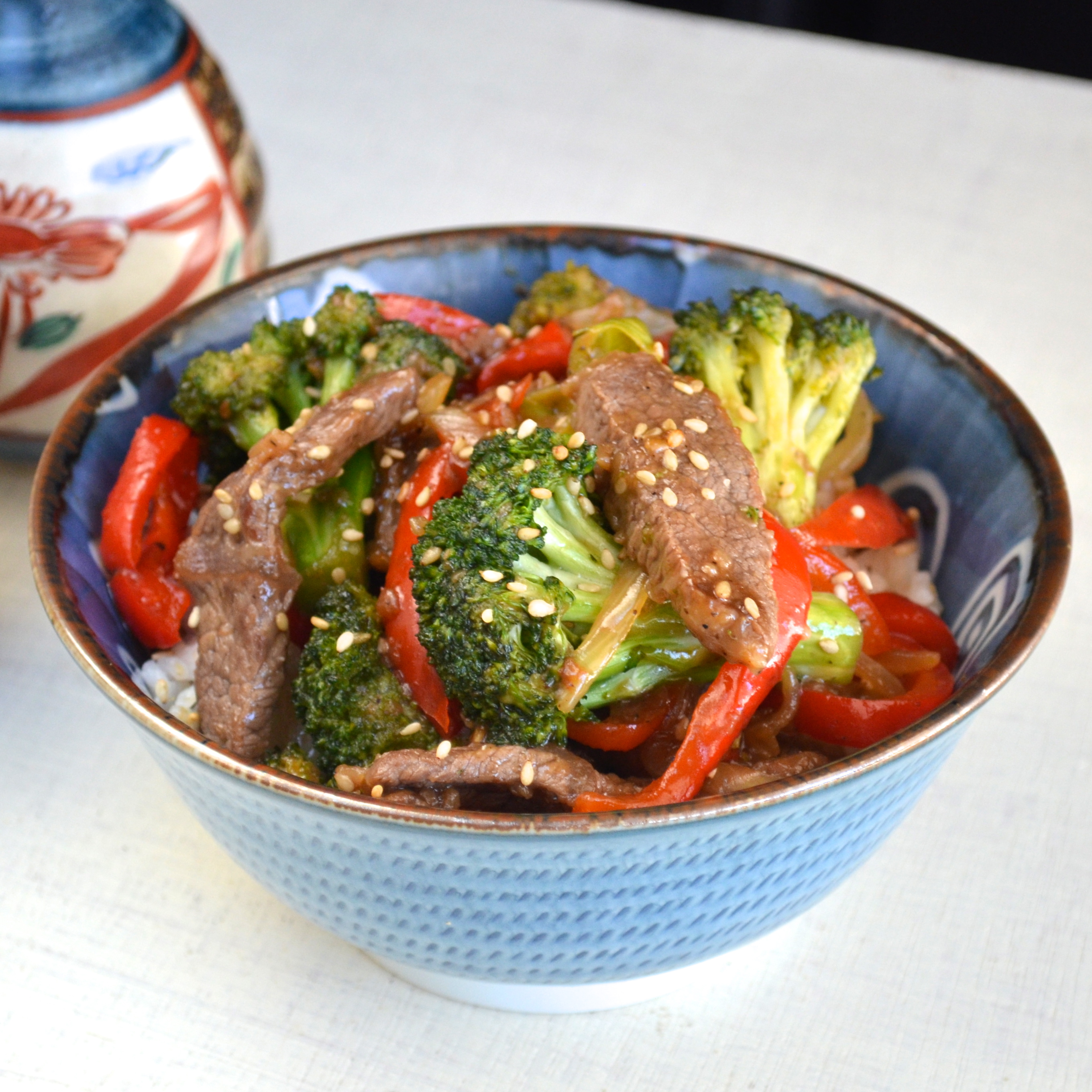 Broccoli and Beef Recipe - Apple of My Eye