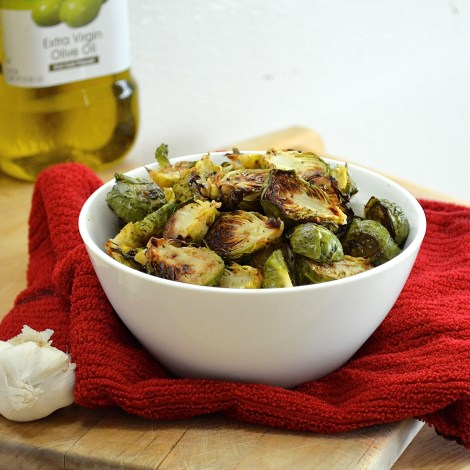 Fabulously delicious balsamic and garlic roasted brussel sprouts! They'll turn anyone into a vegetable lover!!