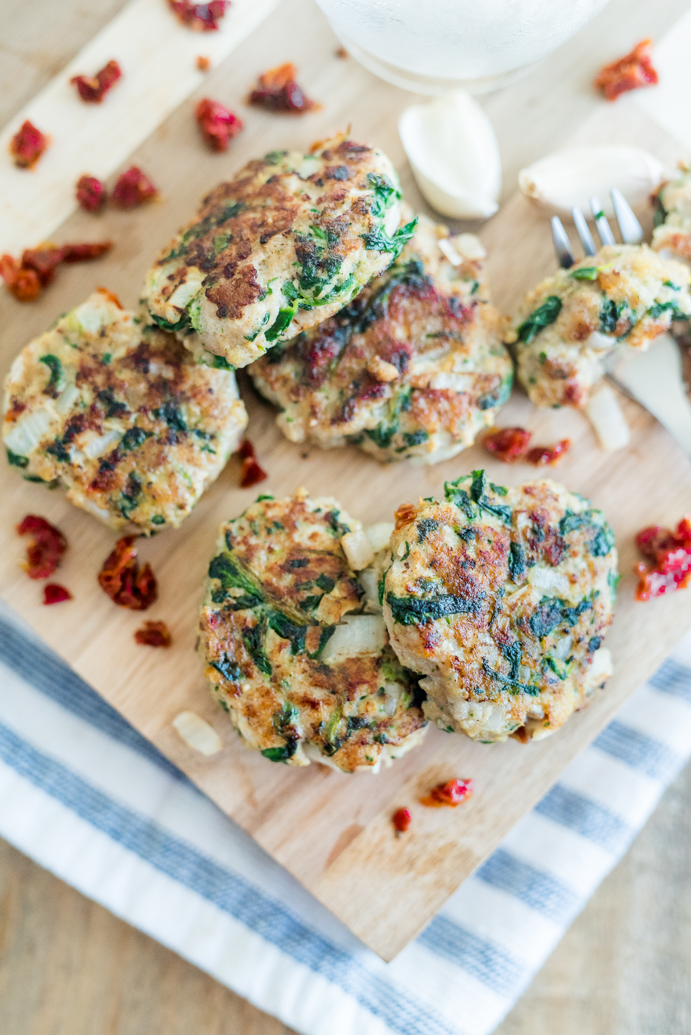 Italian Turkey Protein Patties- easy to meal prep, delicious, and healthy!
