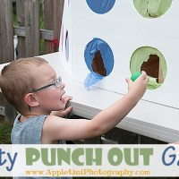 DIY Punch Out Birthday Party Game