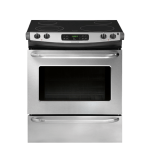 FFES3025PS Frigidaire 30'' Slide-In Electric Range