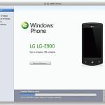 Synchroniser Windows Phone avec Mac OS X avec Windows Phone 7 Connector