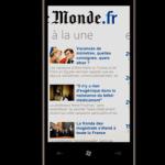 Application Windows Phone: Le Monde, suivez l'actualité directement depuis votre téléphone