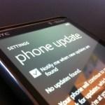 Windows Phone 7: une première mise à jour (mineure)