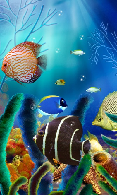 Aquarium Live Wallpaper (free) Free Android Live Wallpaper download - Appraw