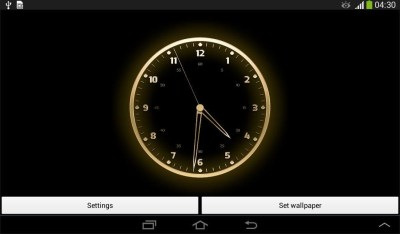 Live Clock Wallpaper Free Android Live Wallpaper download - Appraw
