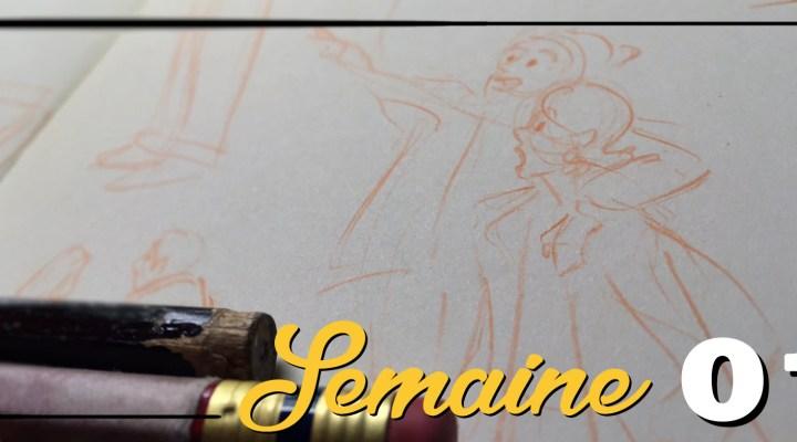 Semaine 01 – Ré-apprendre à dessiner