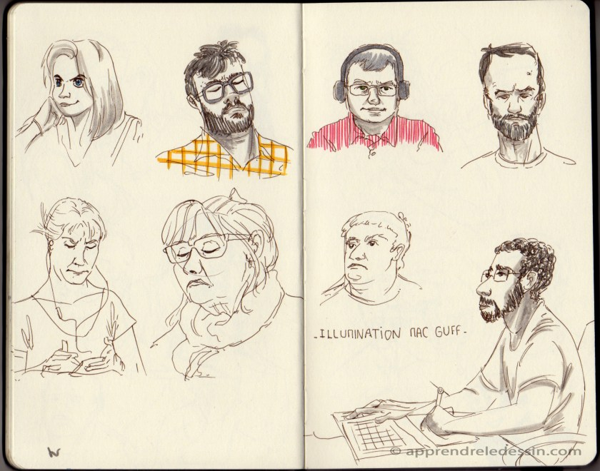 Croquis_dessiner_visages 3